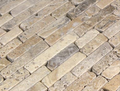 travertino anticato pavimento