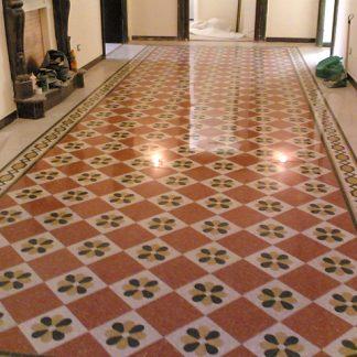 posa pavimento marmette cemento